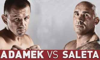 Tomasz Adamek vs Saleta - full fight Video 2015 cala walka