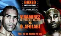 Ola Afolabi vs Victor Ramirez - full fight Video pelea 2015