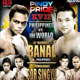Video - AJ Banal vs Pungluang Sor Singyu - full fight video WBO title