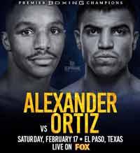 Devon Alexander vs Victor Ortiz full fight Video 2018