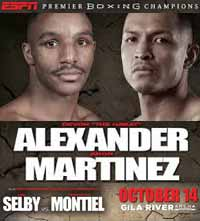 Devon Alexander vs Aaron Martinez - full fight Video 2015 pelea