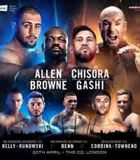 David Allen vs Lucas Browne - full fight Video 2019