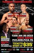 Rene Alvarado vs Eric Hunter - full fight Video 2015 pelea