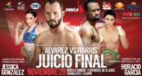 Ramon Alvarez vs Vivian Harris - full fight Video pelea 2014