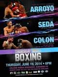 McWilliams Arroyo vs Froilan Saludar - full fight Video 2014