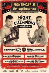 Youri Kalenga vs Roberto Bolonti - fight Video 2015 pelea