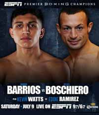 Mario Barrios vs Devis Boschiero - full fight Video 2016