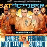 Rances Barthelemy vs Fernando Saucedo full fight Video 2014