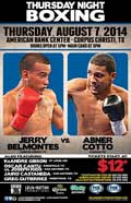 Jerry Belmontes vs Abner Cotto - full fight Video 2014 pelea