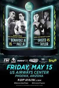 Emmanuel Taylor vs Antonio Orozco - fight Video 2015 result