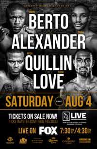 Andre Berto vs Devon Alexander full fight Video 2018