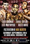 Andre Berto vs Steve Upsher Chambers - full fight Video 2014