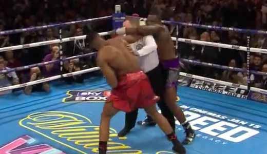 Anthony Joshua vs Dillian Whyte - full fight Video 2015 foty