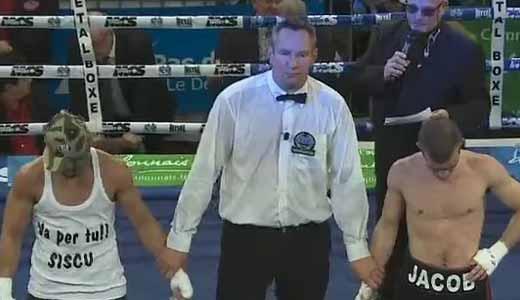 Romain Jacob vs Juli Giner - full fight Video 2015 Ebu