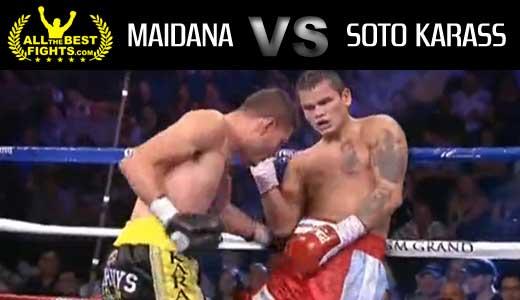 Marcos Rene Maidana vs Jesus Soto Karass - full fight Video pelea