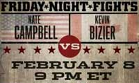 Kevin Bizier vs Nate Campbell - full fight Video IBF 2013