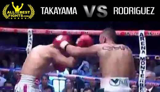 Francisco Rodriguez Jr vs Takayama full fight Video pelea 2014
