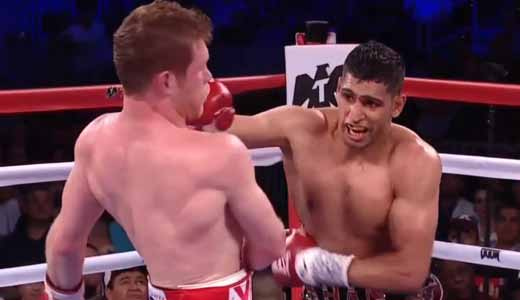 Saul Canelo Alvarez vs Amir Khan - full fight Video 2016 WBC