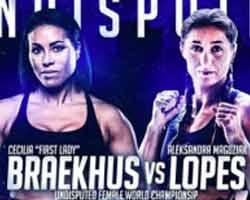 Cecilia Braekhus vs Aleksandra Lopes full fight Video 2018 WBC