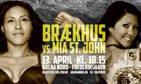 Cecilia Braekhus vs Mia St John - full fight Video WBA WBO WBC 2013