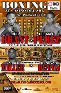 Jarrell Miller vs Donovan Dennis - full fight Video 2016 result