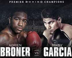 Mikey Garcia vs Adrien Broner - full fight Video 2017 result