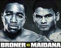 Adrien Broner vs Marcos Maidana - full fight Video pelea 2013 WBA