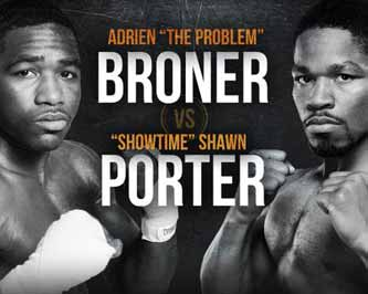 Shawn Porter vs Adrien Broner - full fight Video 2015 result