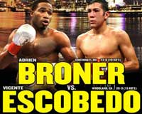 Video - Adrien Broner vs Vicente Escobedo - full fight video WBO title