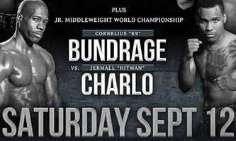 Jermall Charlo vs Bundrage - full fight Video 2015 IBF