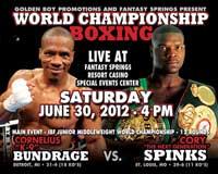 Cornelius Bundrage vs Cory Spinks 2 - full fight Video pelea IBF title