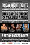 Juan Carlos Burgos vs Yakubu Amidu - full fight Video pelea 2013