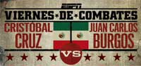 Juan Carlos Burgos vs Cristobal Cruz - full fight Video pelea WBC silver