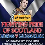 Ricky Burns vs Jose A Gonzalez - full fight Video pelea WBO 2013