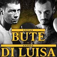 Lucian Bute vs Andrea Di Luisa - full fight Video 2015 result