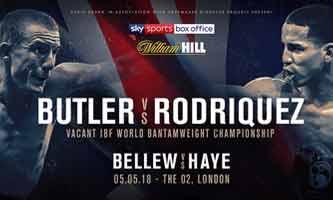 Paul Butler vs Emmanuel Rodriguez full fight Video 2018 IBF