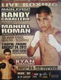 Video - Randy Caballero vs Manuel Roman - full fight video pelea WBO