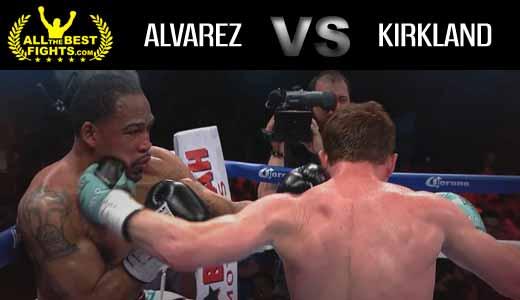 Saul Canelo Alvarez vs Kirkland - full fight Video 2015 pelea