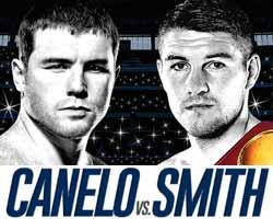 Saul Canelo Alvarez vs Liam Smith - full fight Video 2016 WBO