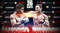 Saul Canelo Alvarez vs Kermit Cintron - full fight Video pelea Canelo