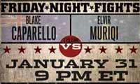 Blake Caparello vs Elvir Muriqi - full fight Video 2014-01-31