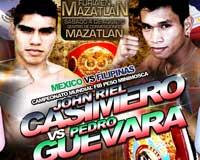 John Riel Casimero vs Pedro Guevara - full fight Video pelea IBF title