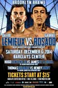 Thomas Dulorme vs Henry Lundy - full fight Video 2014 result