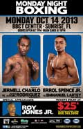 Jermell Charlo vs Jose Angel Rodriguez - full fight Video pelea 2013