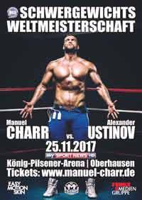 Manuel Charr vs Ustinov full fight Video 2017 WBA