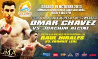 Omar Chavez vs Joachim Alcine - full fight Video pelea 2013-10-19