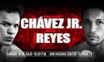 Chavez Jr vs Marcos Reyes - full fight Video pelea 2015