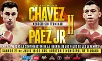 Video - Jorge Paez Jr vs Omar Chavez 2 - full fight video pelea WBC