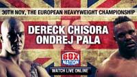 Dereck Chisora vs Ondrej Pala - full fight Video 2013-11-30