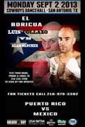 Luis Collazo vs Alan Sanchez - full fight Video pelea 2013